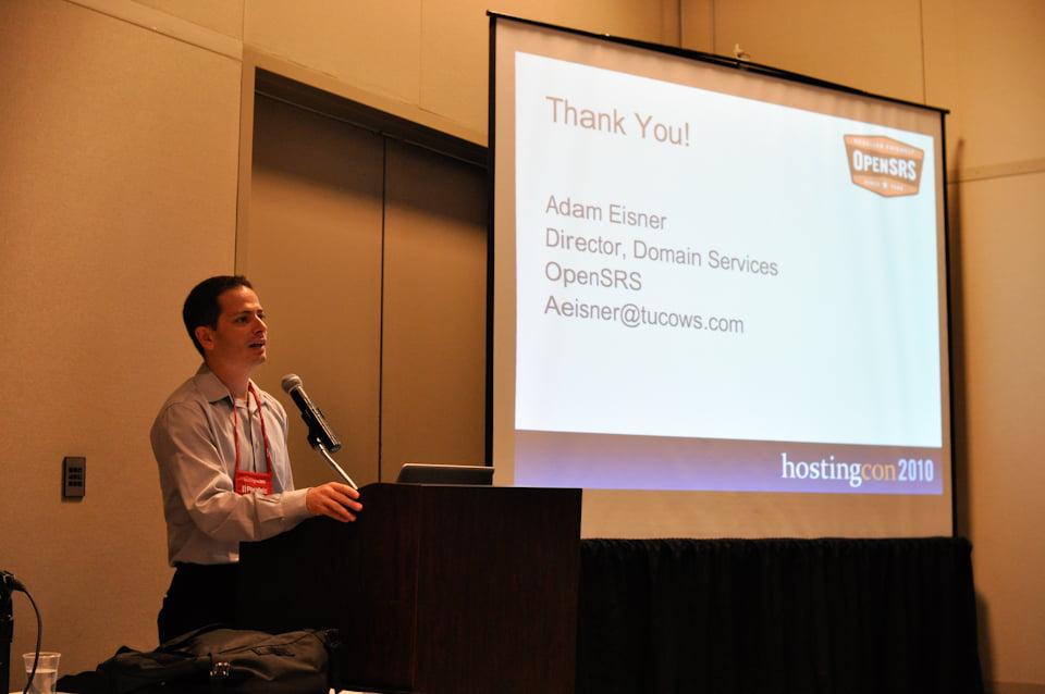 Photos from HostingCon 2010